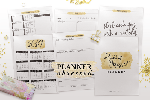 Planner Obsessed™ Planner [Gold Edition]