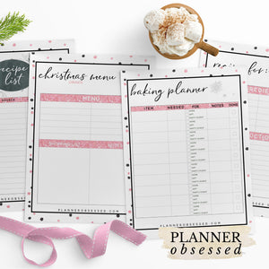Chic Holiday Planner Printable Pack
