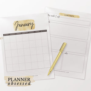 The Planner Obsessed™ Planner [Gold Edition]