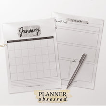 Load image into Gallery viewer, The Planner Obsessed™ Planner [Silver Edition]