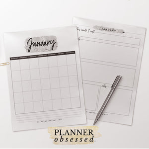 The Planner Obsessed™ Planner [Silver Edition]