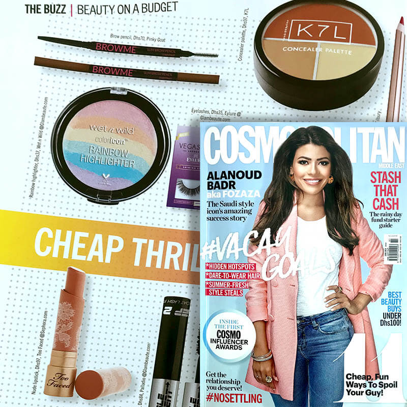COSMOPOLITAN MAGAZINE | Slim Pencil