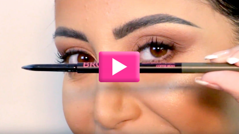 VIDEO: HOW TO USE SLIM BROW PENCIL