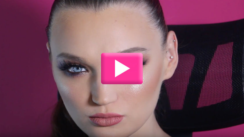 VIDEO: GORGEOUS MAKEUP WITH RIHAM LASHES