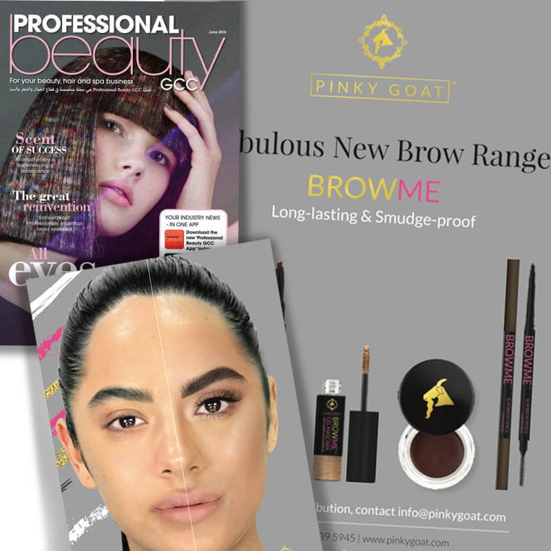 PROFESSIONAL BEAUTY | New BROWME Collection