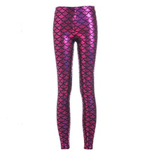 Load image into Gallery viewer, Women's mermaid style leggings