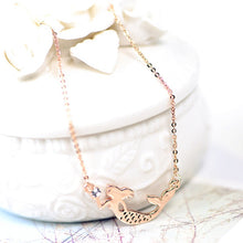 Load image into Gallery viewer, The little mermaid necklace