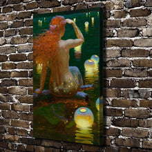 Load image into Gallery viewer, Mermaid HD Print Wall painting