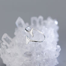 Load image into Gallery viewer, 100% 925 Sterling Silver Mermaid Tail Ring