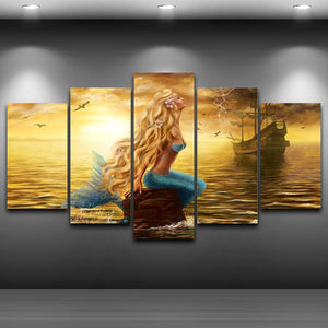 Canvas HD Mermaid picture