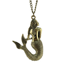 "Load image into Gallery viewer, Mermaid 26"" Long Necklace"