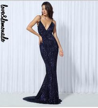 Load image into Gallery viewer, Mermaid Long Dress