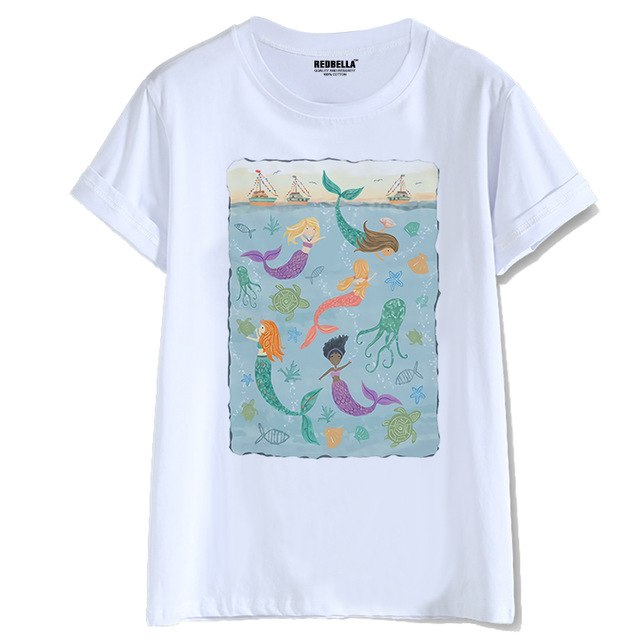 Mermaid Cool Sea Princess T Shirt