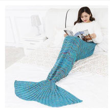 Load image into Gallery viewer, Mermaid Tail Blankets