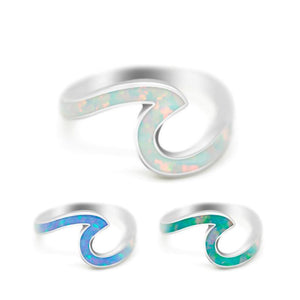 Wave Ocean Mermaid Ring