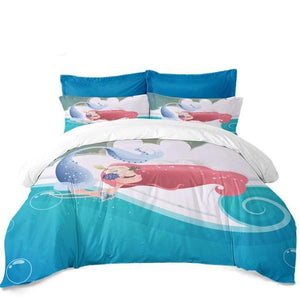 "Sleeping Princess ""Mermaid"" Bedding Set"
