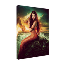 Load image into Gallery viewer, Mermaid Oil Painting On Canvas
