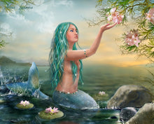 Load image into Gallery viewer, Beautiful Mermaid Anime HD Canvas Print