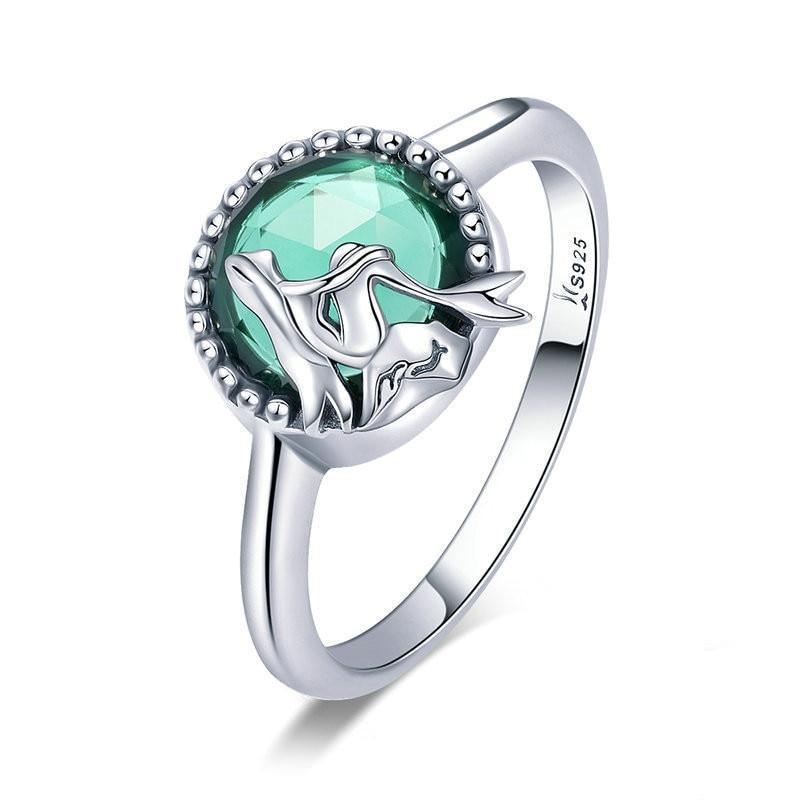 100% 925 Sterling Silver Mermaid Ring