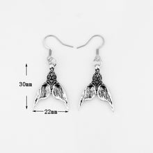 Load image into Gallery viewer, Mermaid Tail  Earrings