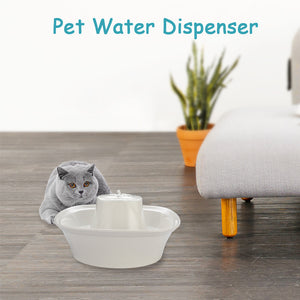 Fiumi Ceramic Pet Drinking Fountain