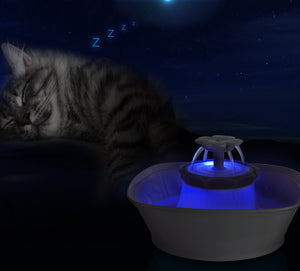 iPettie Clover LED Cat Water Fountain