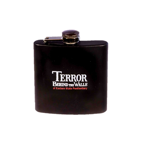 Terror Behind the Walls Flask