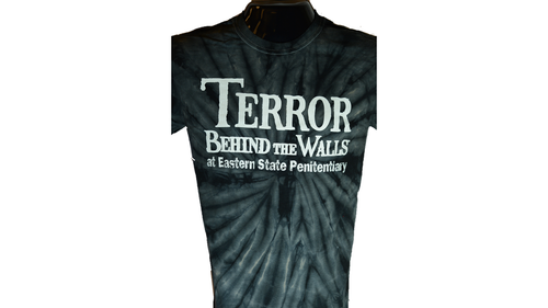 Black Terror Behind the Walls Tie Dye T-Shirt