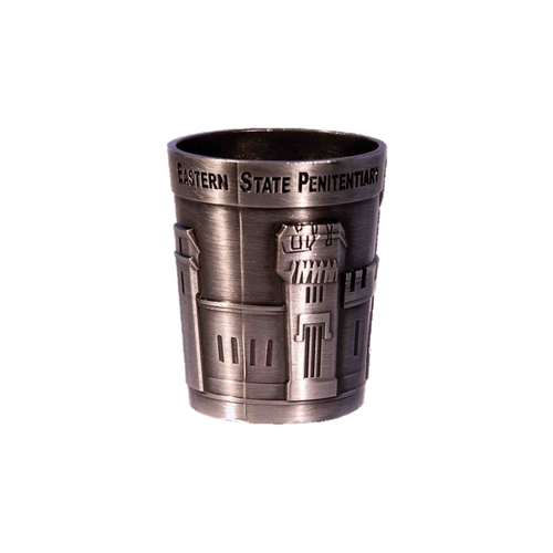 Metal Facade Shot Glass