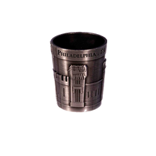 Load image into Gallery viewer, Metal Facade Shot Glass