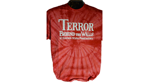 Red Terror Behind the Walls Tie Dye T-Shirt