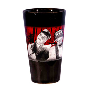Terror Behind the Walls Characters Pint Glass