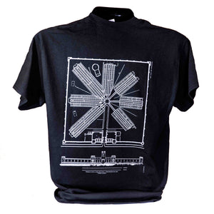 Radial Plan T-Shirt