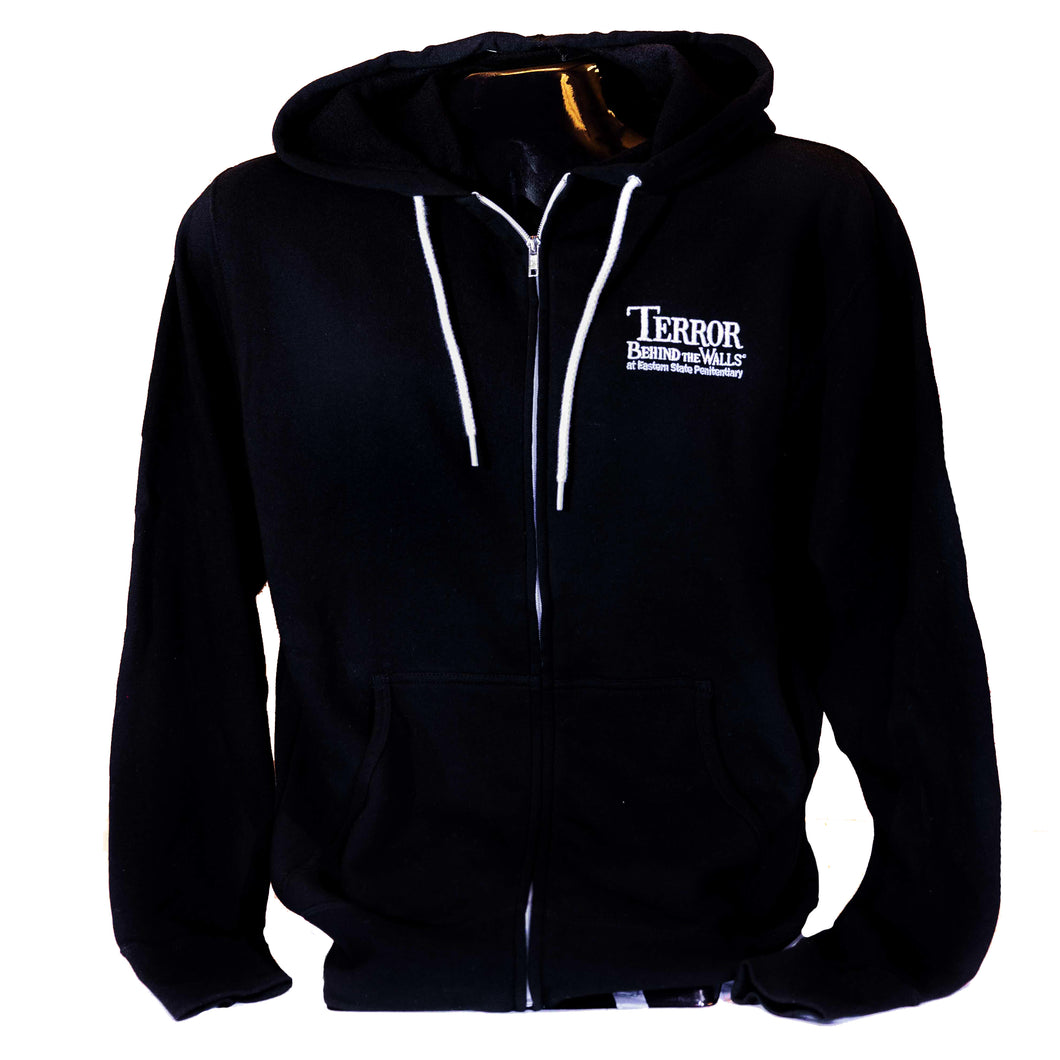 Terror Behind the Walls Zip Up Hoodie