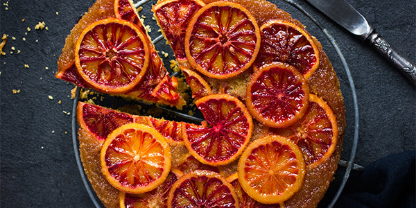 Blood Orange & Turmeric Cake
