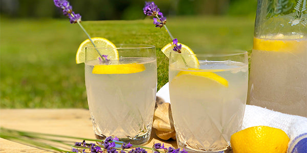Refreshing Cardamom-Lavender Lemonade