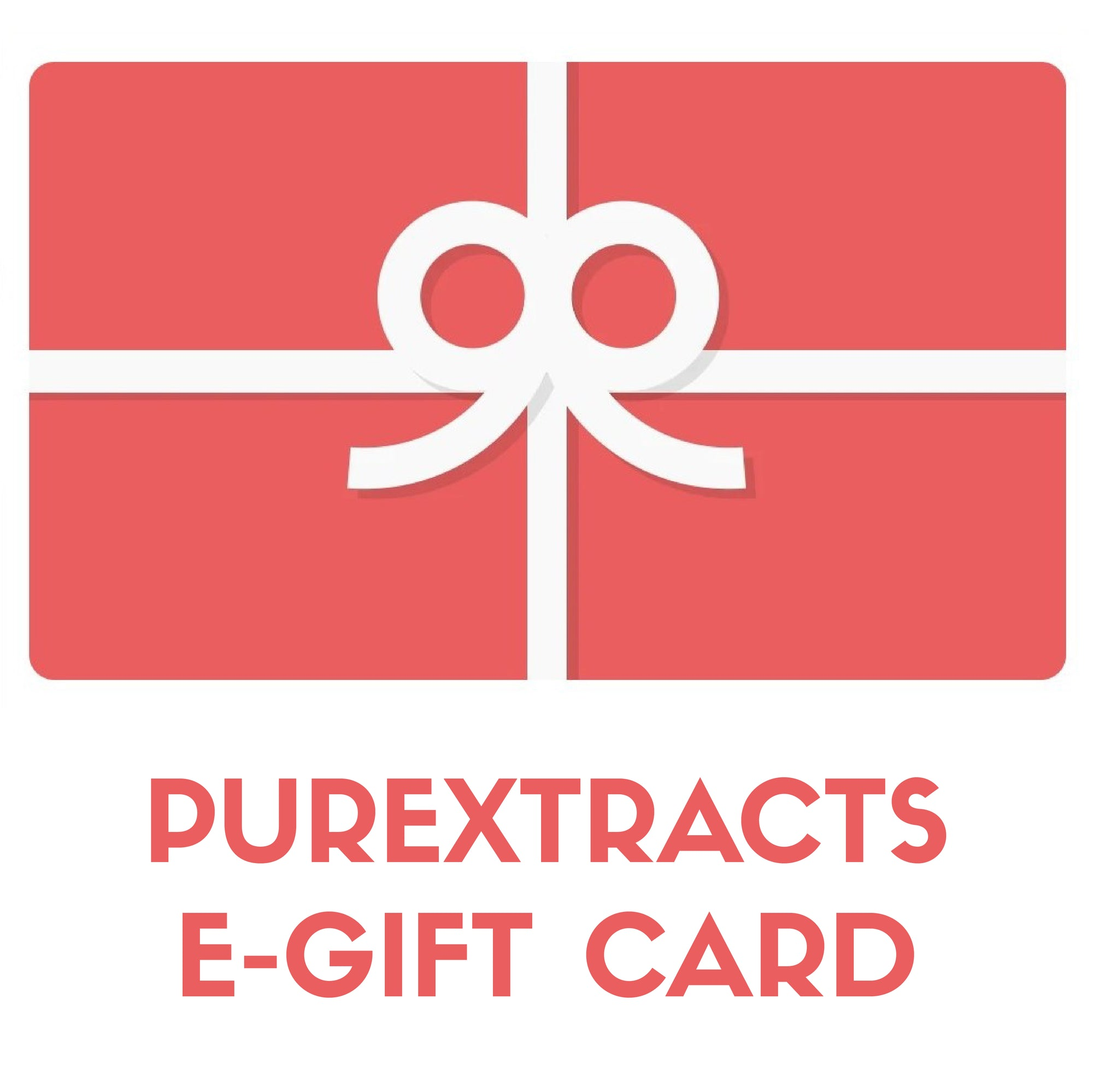 Purextracts e-gift card