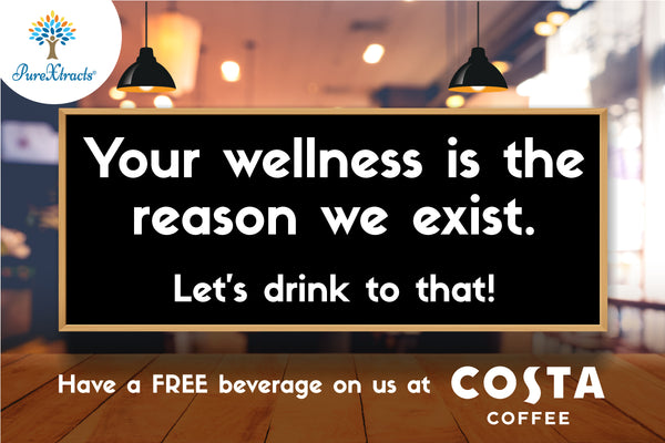 FREE drink at Costa- from PureXtracts