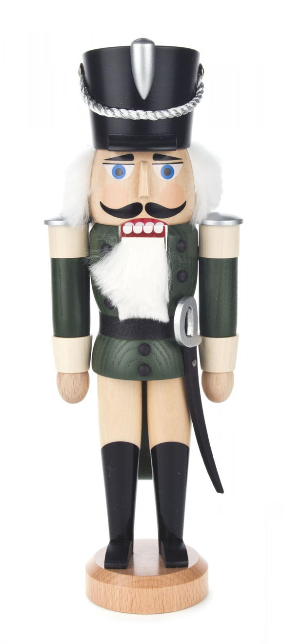 Nutcracker - Hussar, Forest Green