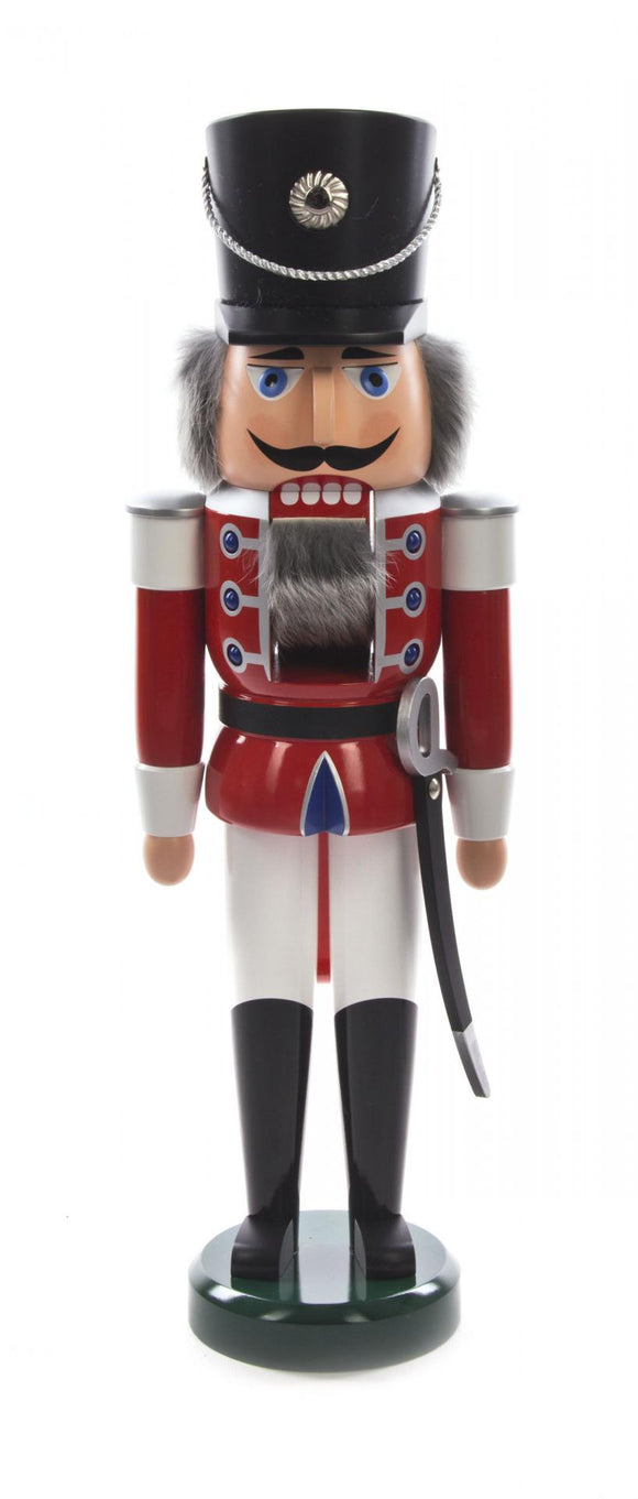 Nutcracker -  Hussar Soldier, Red XL