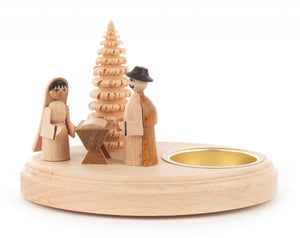 Nativity Tea Light Holder