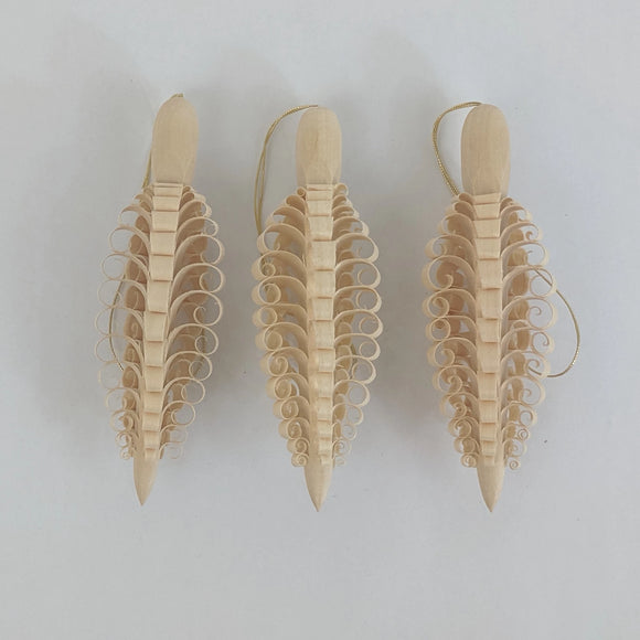 Ornament - Pine Cone Set of 3