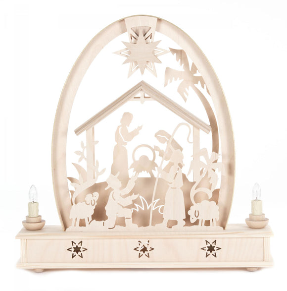 Electric High Arch Nativity Schwibboggen