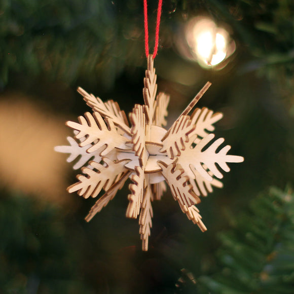 Ornament - 3D Snowflake