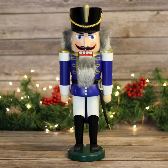 Nutcracker - Hussar, Blue