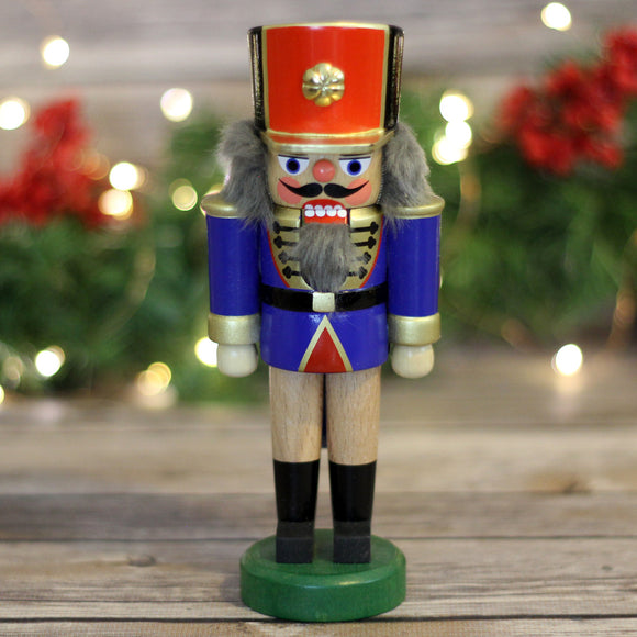 Nutcracker - Soldier, Blue and Gold