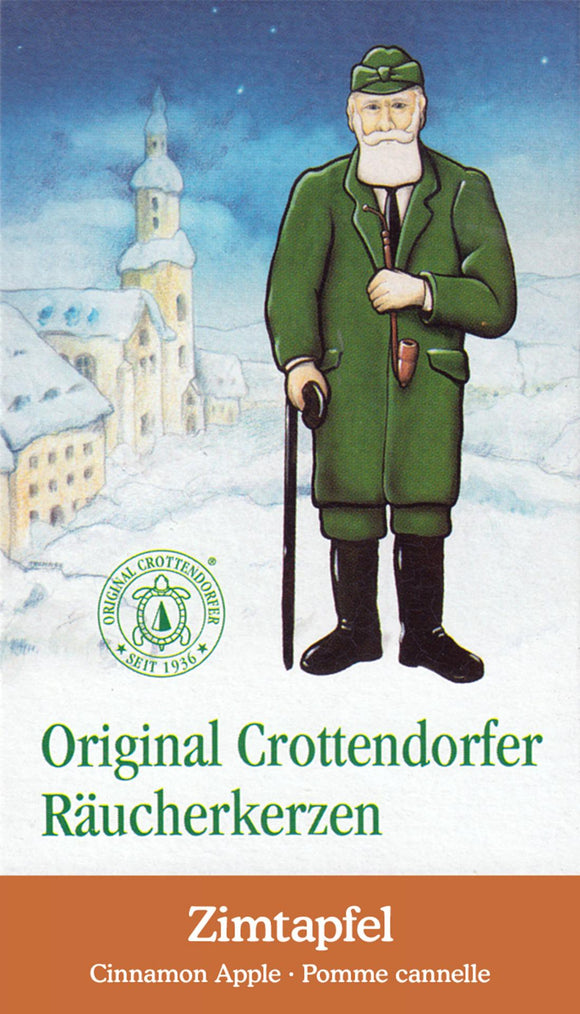 Crottendorfer Incense Cone - Cinnamon Apple
