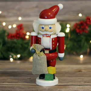Nutcracker - Santa with  Gifts