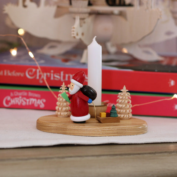 Santa Mini Candle Holder
