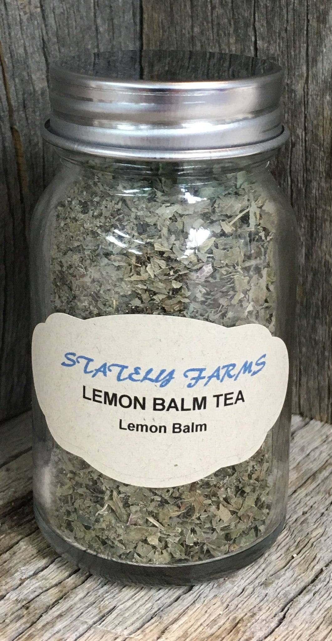 Lemon Balm Tea